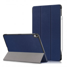 Tri-Fold Book Case iPad Air (2020) Hoesje - Donkerblauw