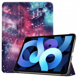 Tri-Fold Book Case iPad Air (2020) Hoesje - Galaxy