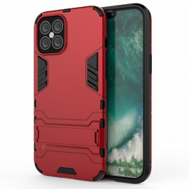 Armor Kickstand iPhone 12 Pro Max Hoesje - Rood