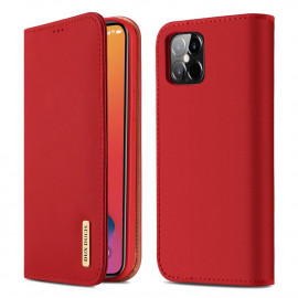 Dux Ducis Wish iPhone 12 Pro Max Hoesje - Rood