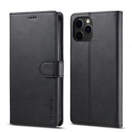 Luxe Book Case iPhone 12 Mini Hoesje - Zwart