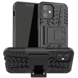 Rugged Kickstand iPhone 12 Mini Hoesje - Zwart