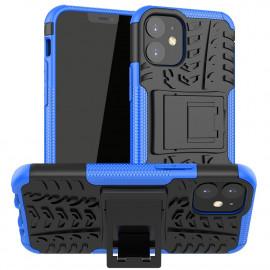 Rugged Kickstand iPhone 12 Mini Hoesje - Blauw
