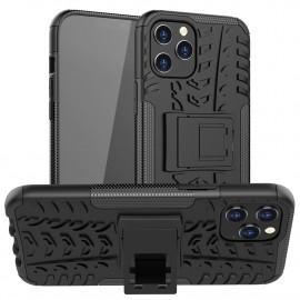 Rugged Kickstand iPhone 12 Pro Max Hoesje - Zwart
