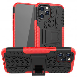 Rugged Kickstand iPhone 12 Pro Max Hoesje - Rood