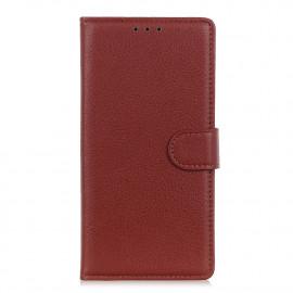 Book Case Motorola Moto G9 Play Hoesje - Bruin