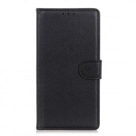 Book Case Motorola Moto G9 Plus Hoesje - Zwart
