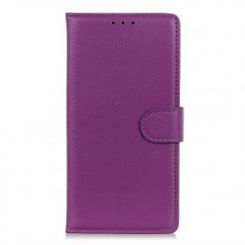 Book Case Motorola Moto G9 Plus Hoesje - Paars