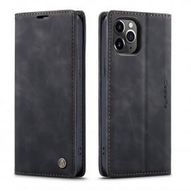 CaseMe Book Case iPhone 12 Pro Max Hoesje - Zwart