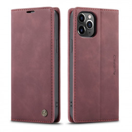 CaseMe Book Case iPhone 12 Pro Max Hoesje - Bordeaux