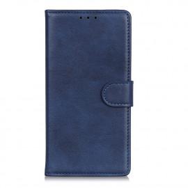 Luxe Book Case Motorola Moto G9 Plus Hoesje - Blauw