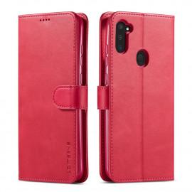 Luxe Book Case Samsung Galaxy M11 / A11 Hoesje - Roze