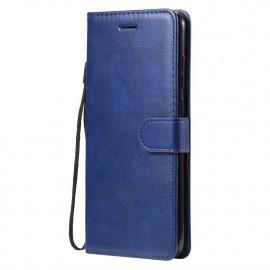 Book Case Samsung Galaxy M11 / A11 Hoesje - Blauw