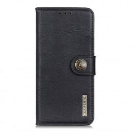 Classic Book Case Samsung Galaxy A42 Hoesje - Zwart