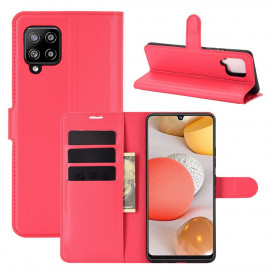 Book Case Samsung Galaxy A42 Hoesje - Rood