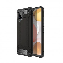Armor Hybrid Samsung Galaxy A42 Hoesje - Zwart