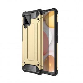 Armor Hybrid Samsung Galaxy A42 Hoesje - Goud