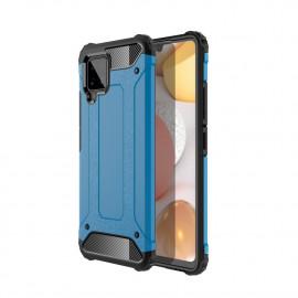 Armor Hybrid Samsung Galaxy A42 Hoesje - Lichtblauw
