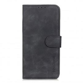 Book Case Motorola Moto E7 Plus Hoesje - Zwart