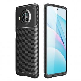 Carbon Fiber TPU Case Xiaomi Mi 10T Lite 5G Hoesje - Zwart