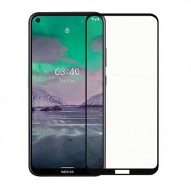Full-Cover Tempered Glass Nokia 3.4 - Zwart