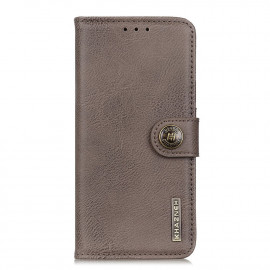 Classic Book Case OnePlus 8T Hoesje - Grijs