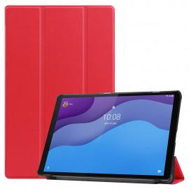 Tri-Fold Book Case Lenovo Tab M10 HD Gen 2 (TB-X306F) Hoesje - Rood