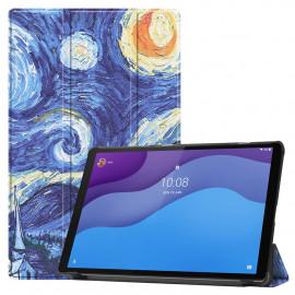 Tri-Fold Book Case Lenovo Tab M10 HD Gen 2 (TB-X306F) Hoesje - Sterrennacht
