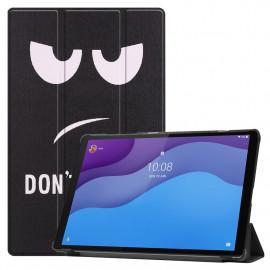 Tri-Fold Book Case Lenovo Tab M10 HD Gen 2 (TB-X306F) Hoesje - Don't Touch