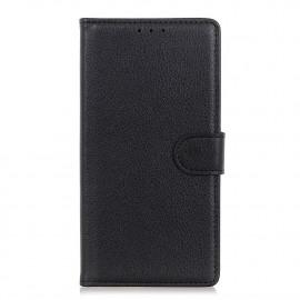 Book Case Motorola Moto E7 Hoesje - Zwart