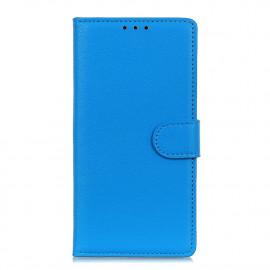 Book Case Motorola Moto E7 Hoesje - Blauw
