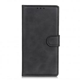 Luxe Book Case Motorola Moto E7 Hoesje - Zwart