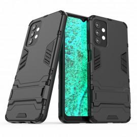 Armor Kickstand Samsung Galaxy A32 5G Hoesje - Zwart