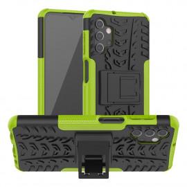 Rugged Kickstand Samsung Galaxy A32 5G Hoesje - Groen