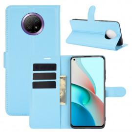 Book Case Xiaomi Redmi Note 9T Hoesje - Lichtblauw