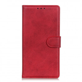 Luxe Book Case Xiaomi Redmi Note 9T Hoesje - Rood