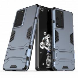 Armor Kickstand Samsung Galaxy S21 Ultra Hoesje - Grijs