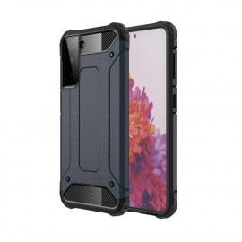Armor Hybrid Samsung Galaxy S21 Plus Hoesje - Donkerblauw