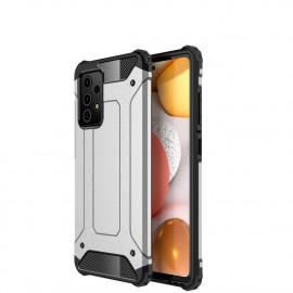 Armor Hybrid Samsung Galaxy A72 Hoesje - Grijs