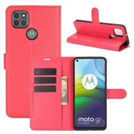 Book Case Motorola Moto G9 Power Hoesje - Rood
