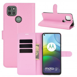 Book Case Motorola Moto G9 Power Hoesje - Pink