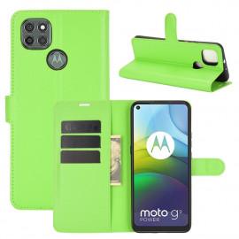 Book Case Motorola Moto G9 Power Hoesje - Groen