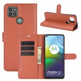 Book Case Motorola Moto G9 Power Hoesje - Bruin