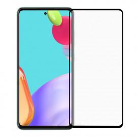 Full-Cover Tempered Glass Samsung Galaxy A52 - Zwart