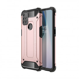 Armor Hybrid OnePlus Nord N10 Hoesje - Rose Gold