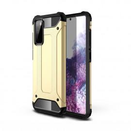 Armor Hybrid Samsung Galaxy S20 FE Hoesje - Goud