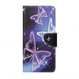Book Case Nokia 5.4 Hoesje - Vlinders