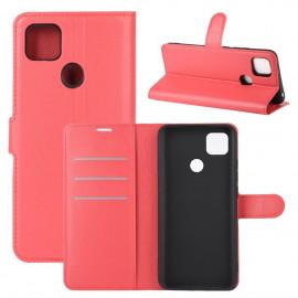Book Case Xiaomi Redmi 9C Hoesje - Rood