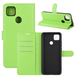 Book Case Xiaomi Redmi 9C Hoesje - Groen