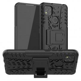 Rugged Kickstand Xiaomi Redmi 9C Hoesje - Zwart